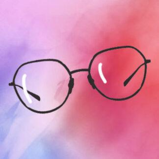 Fém szemüveg