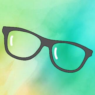 Műanyag szemüveg